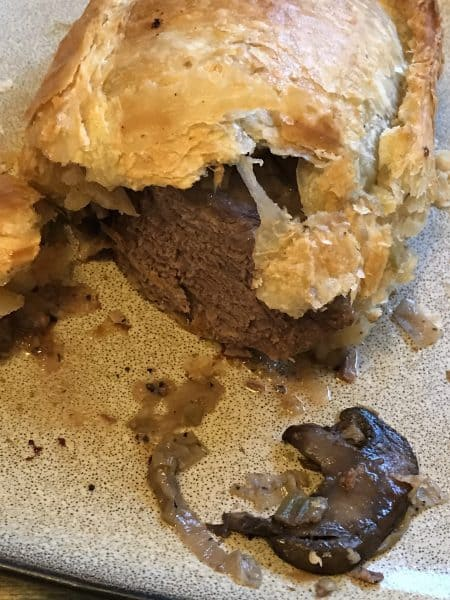 Venison Tenderloin in Puff Pastry