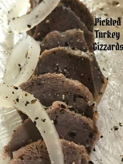 turkey gizzards