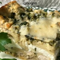White Christmas Lasagna