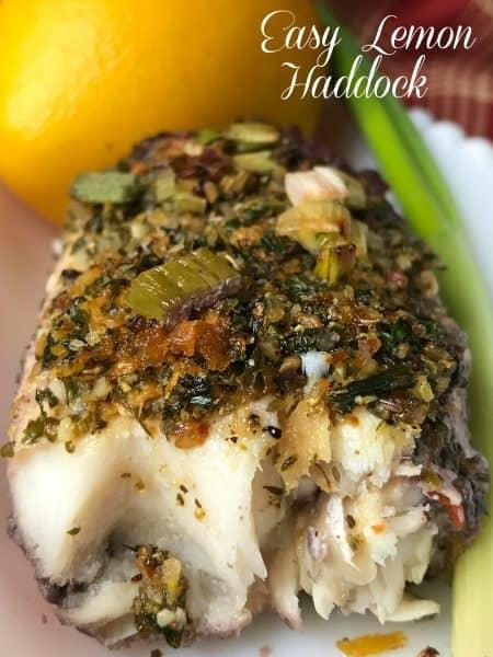 Easy Lemon Haddock