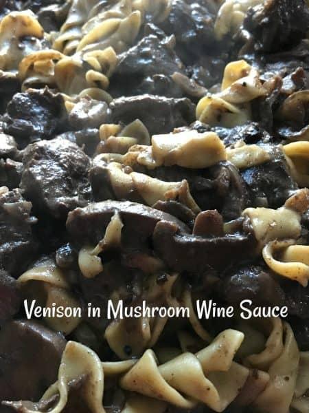 mushroom wine sauce