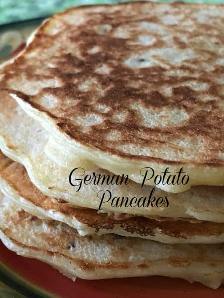 German Potato Pancakes Authentic Kartoffelpuffer