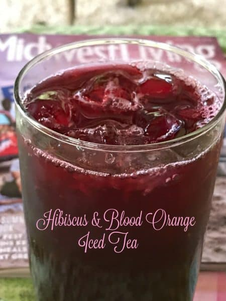 Hibiscus and Blood Orange Iced Tea
