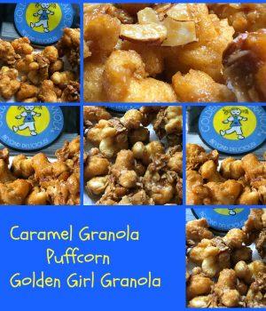 caramel granola