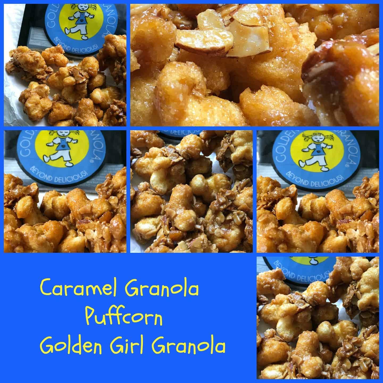 Caramel Granola Puffcorn
