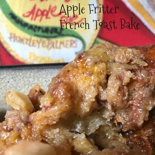 slow cooker apple fritter