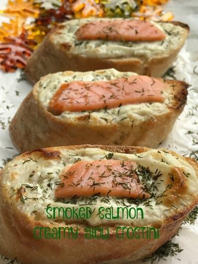 smoked salmon creamy