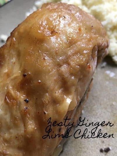 zesty ginger