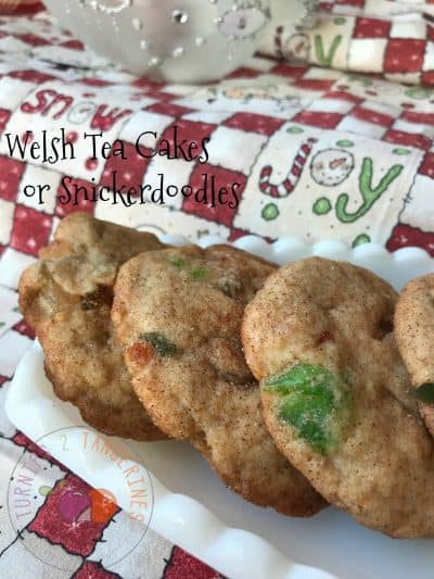 Welsh Tea Cakes or Snickerdoodle Cookie
