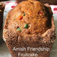 Amish Friendship Fruitcake Bread