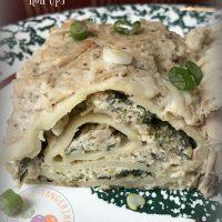 Turkey Lasagna Roll Ups