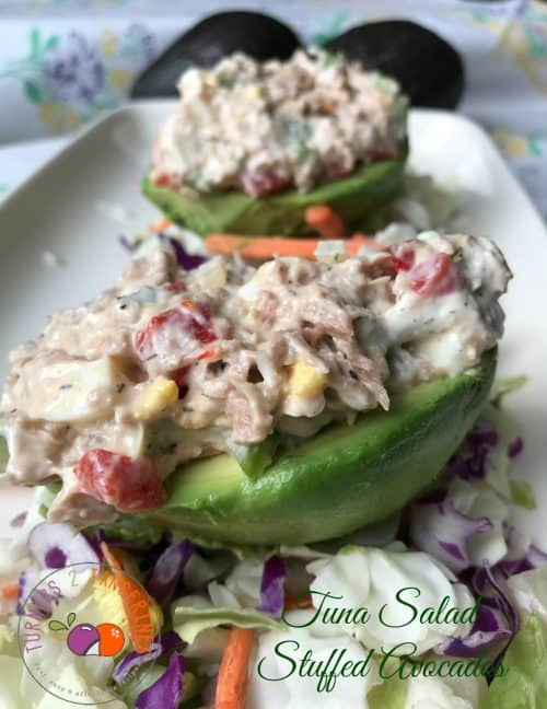 tuna salad stuffed