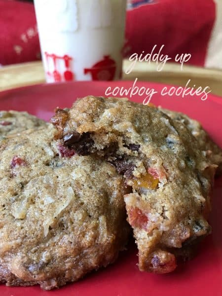 Giddy Up Cowboy Cookies