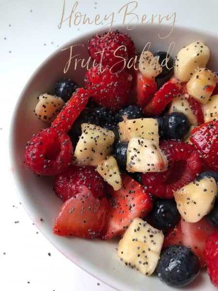 Honey Berry Fruit Salad