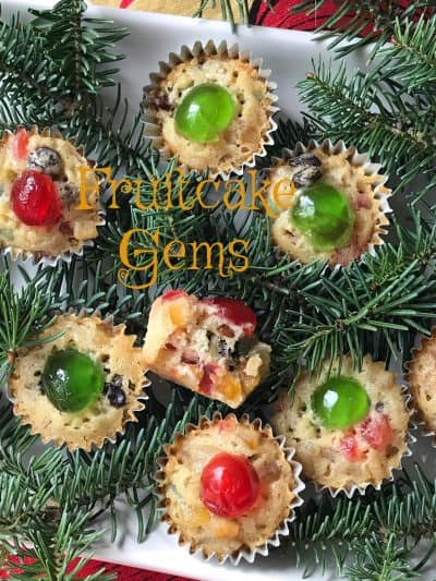 Fruitcake Gems made with Paradise Fruit