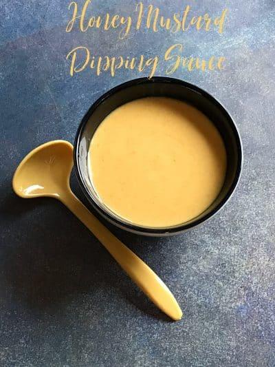 honey mustard dipping