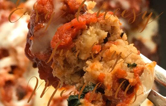 Easy Cheesy Turkey Meatballs
