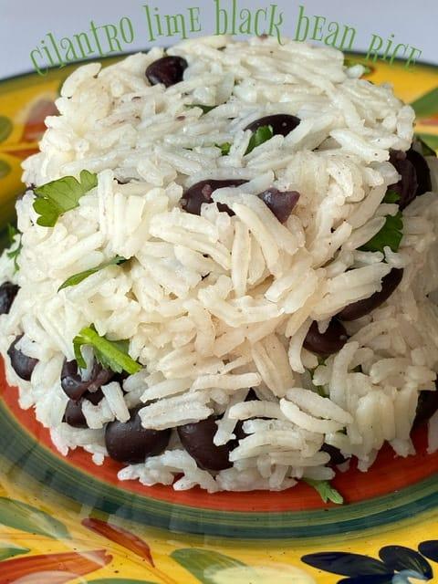 Cilantro Lime Black Bean Rice