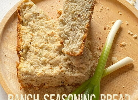 Ranch Seasoning Bread made with Bisquick