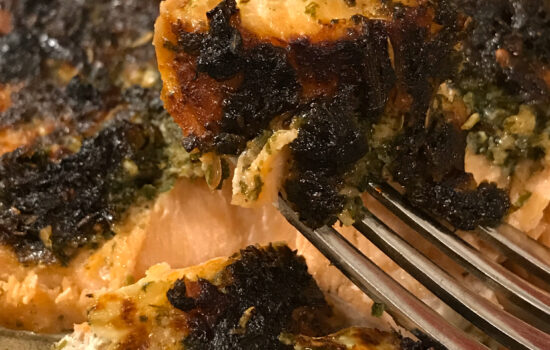 Provencal Salmon Fillets in Air Fryer