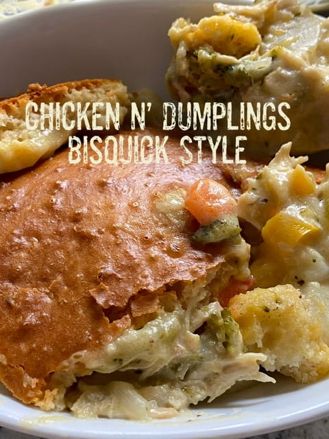Chicken n' Dumplings, Bisquick Style