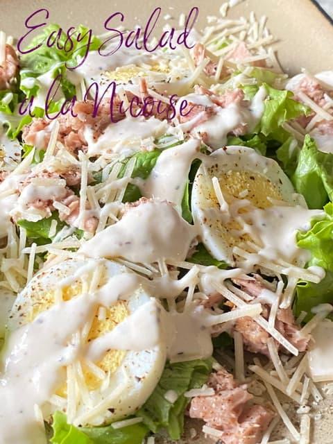 Easy Salad a la Niçoise