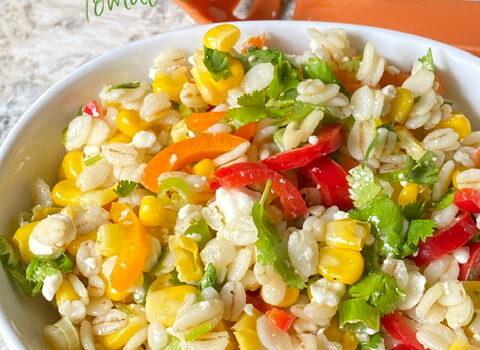Barley, Corn and Pepper Salad