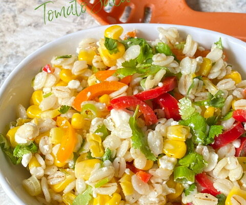 Barley, Corn and Pepper Salad