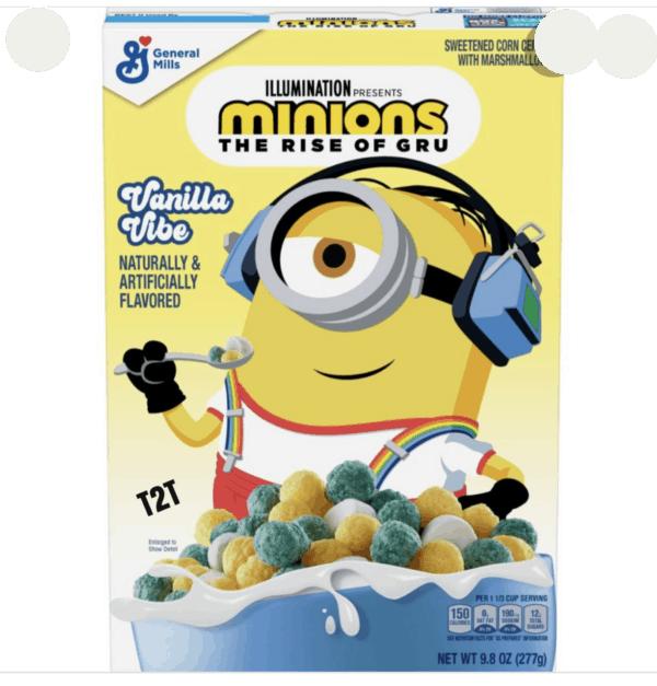 minion cereal